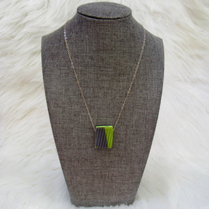 Cornice Ski Necklace