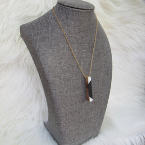 Straightline Ski Necklace