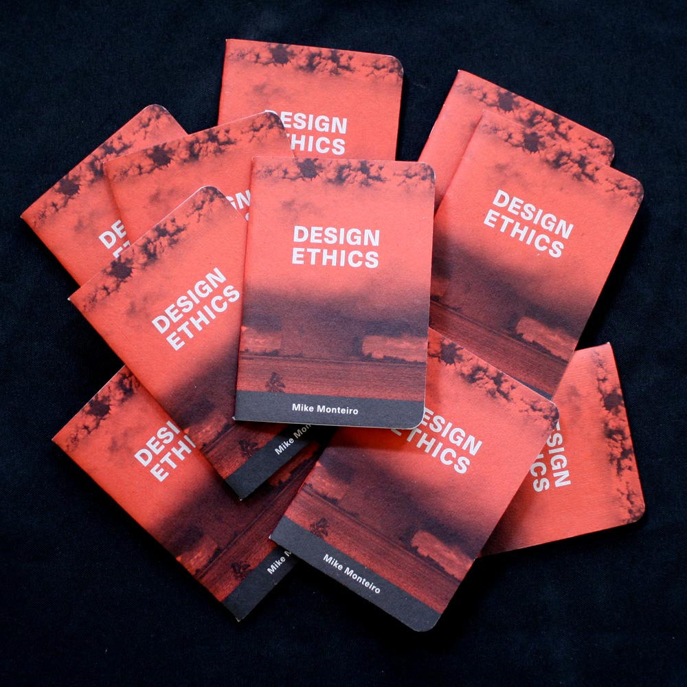 10 pack of design ethics booklets