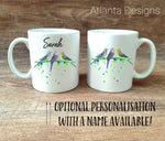 PERSONALISE ME! Budgie Family Parrot Mug