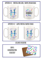 Personalised Name Mug - Hot Air Balloons