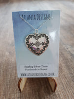 Country Heart Necklace