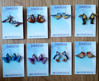 Illustrated Jewellery -Animal Earrings/ Necklaces