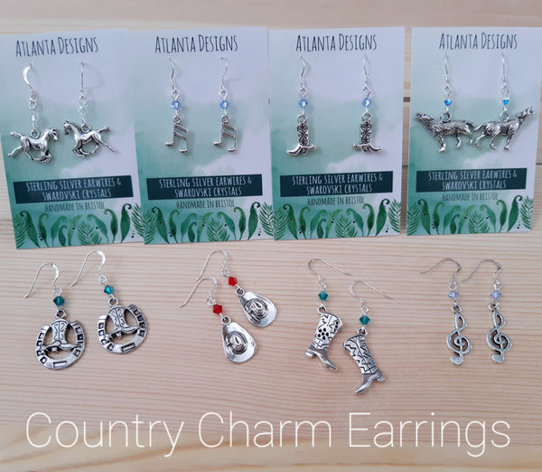 Country Charm Earrings - Jewellery