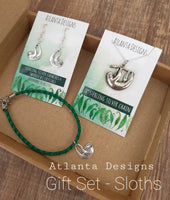 Jewellery Gift Sets - Charm Earrings, Necklace & Bracelet