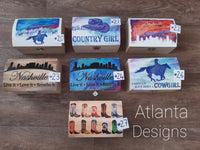 Wooden Country Boxes
