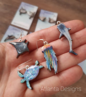 Scuba & Sealife - Illustrated Jewellery
