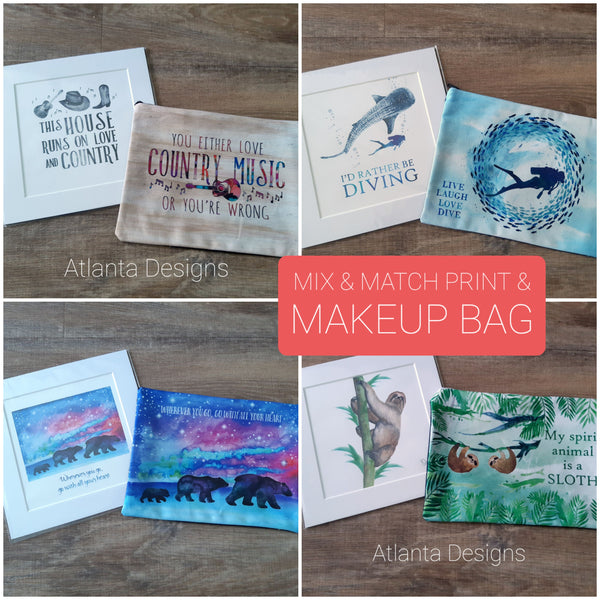 Special Offer! Print & Makeup Bag Multibuy