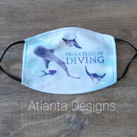 Face Mask With Filter - Scuba Diving