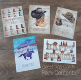 Country Themed Greetings Cards