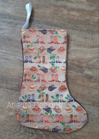 Small Christmas Stocking - Country Music & Cowboys