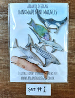 Scuba Diving & Sealife Magnet Sets