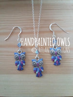JEWELLERY - Handpainted Owls