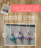 JEWELLERY - Handpainted Elephants
