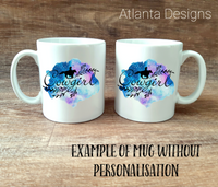 PERSONALISE ME! Cowgirl Country Mug with Optional Coaster Upgrade