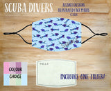Face Mask With Filter - Scuba Divers
