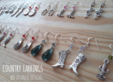 COUNTRY & COWBOYS - Country Earrings - Jewellery