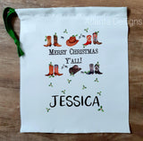 Personalised Christmas Stocking - Country & Cowboys