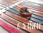 "6.5"" Thin Leather Country Bracelets"
