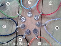 COUNTRY & COWBOYS - Charm Bracelet - Jewellery