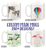 Illustrated Mugs - Over 190 Designs to Choose from!