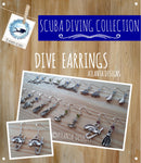 SCUBA DIVING - Earrings - Jewellery