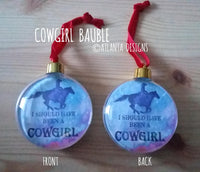 COUNTRY & COWBOYS - Baubles - Illustrated Gifts