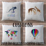 Illustrated Cushions - Over 180 Designs!