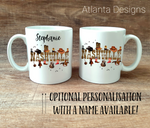 PERSONALISE ME! Country Music Nashville Mug with Optional Coaster Upgrade