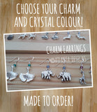 JEWELLERY - Charm Earrings - Personalised