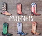 Large Country Magnets - MULTIBUY OFFER! Illustrated Country Gifts