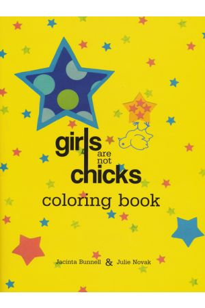 Girls Are Not Chicks Coloring Books