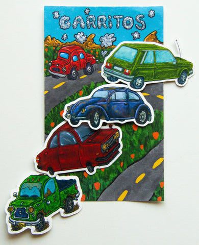 Carritos Sticker Pack