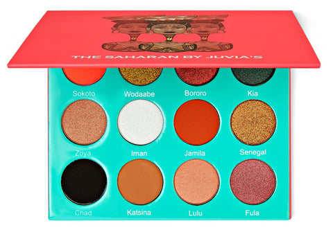 THE SAHARAN EYE PALETTE