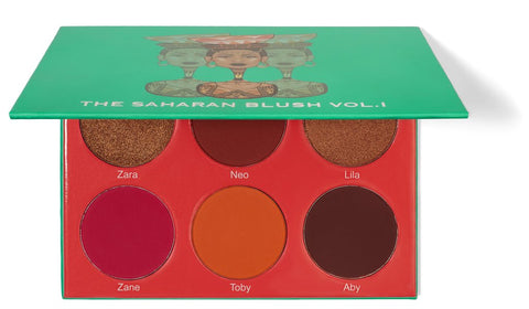 THE SAHARAN BLUSH PALETTE (VOL. 1)