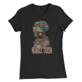 HUMBLE - Women's Slim Fit T-Shirt - beautyshopbygoldenyaa.com
