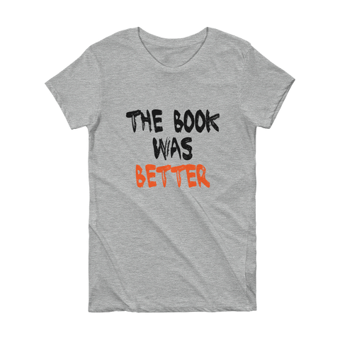 BOOK - SHORT SLEEVE WOMEN'S T-SHIRT