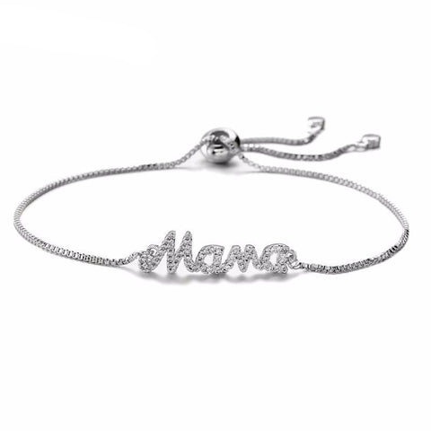 """MAMA"" CHARM BRACELET FOR MOTHER"