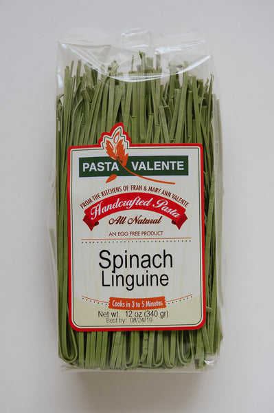 Spinach Linguine