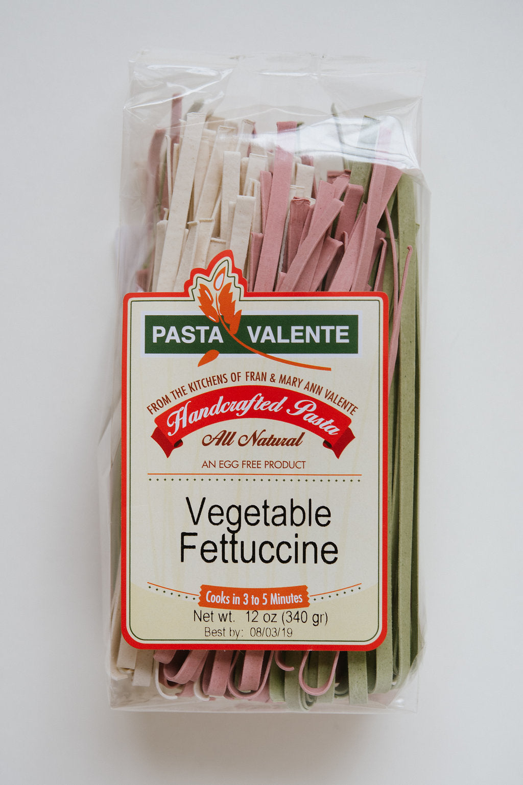 Vegetable Fettuccine