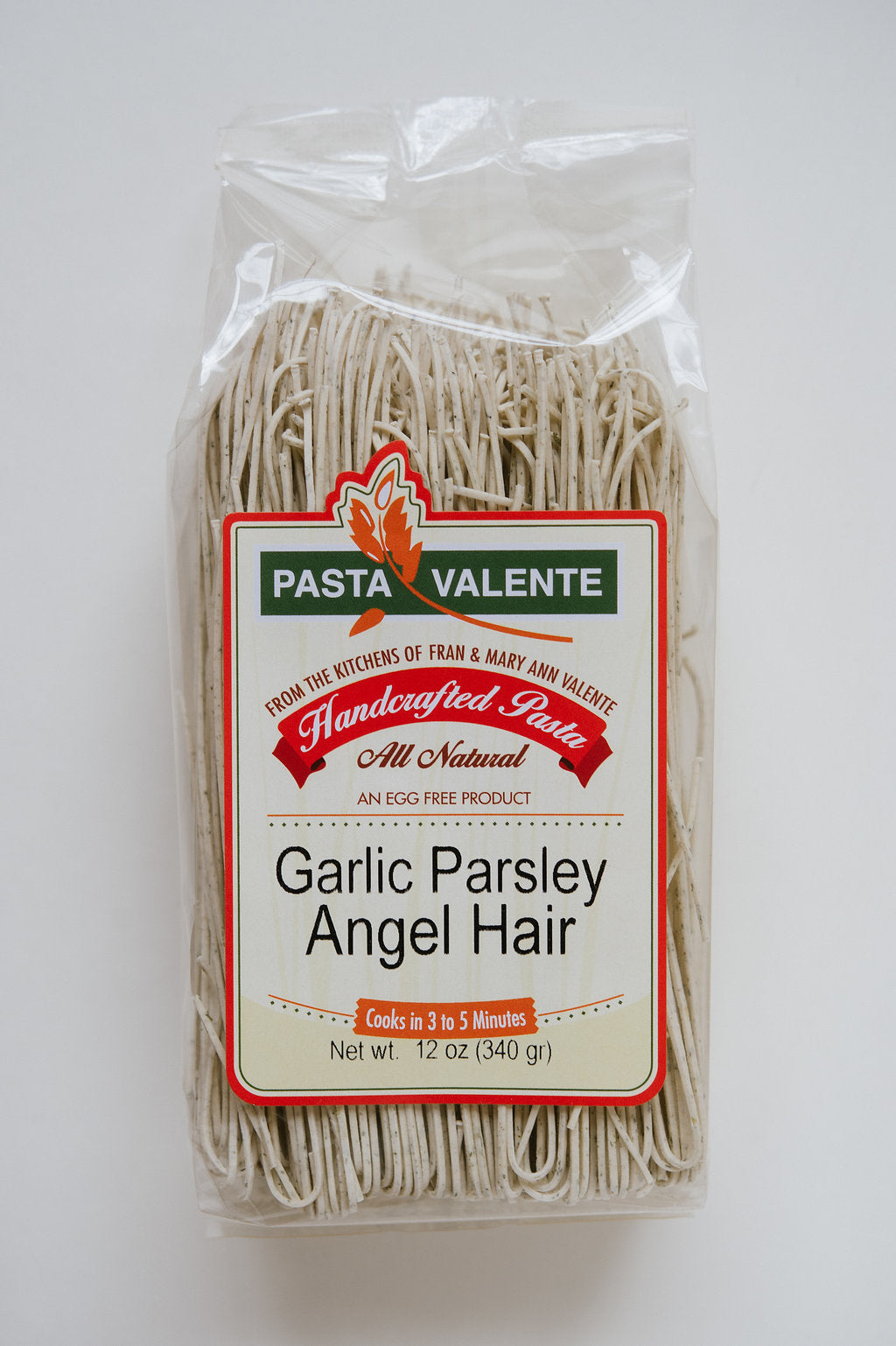 Garlic Parsley Angel Hair Pasta