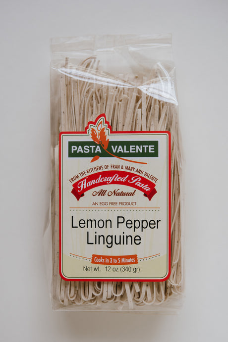 Lemon Pepper Linguine