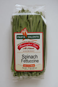 Spinach Fettuccine