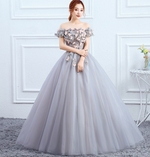 Quinceanera Dresses Off The Shoulder Sweet 16 Ball Gown Debutante Prom Dress