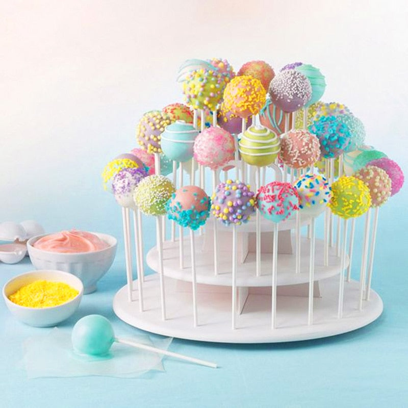 3 Tiers Lollipop Cake Stand Wedding Decoration & Donut Wall Lolly Display Stand Holder Baby Shower Birthday Party Dessert Displays