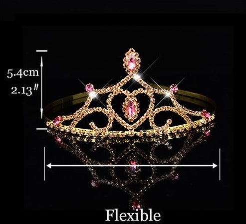 Princess Tiara For Women & Girls  Prom Bridal Birthday Hair Jewelry Accessories