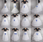 Wedding Underskirt Bridal Dress Prom Dress Petticoat