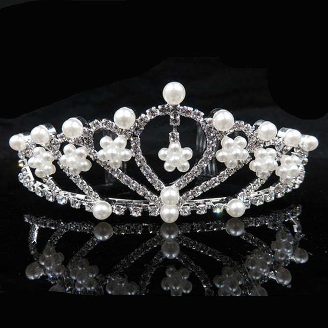 Luxury Rhinestone Tiaras and Crowns Wedding Tiara Bridal Crown