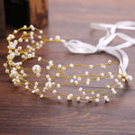 Multi Row Bridal Hair Accessories Tiara Head Piece Fashion Hair Ornaments Wedding Party Tiara Headband