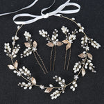 Leaf wedding hair accessories hairbands Bride Headband